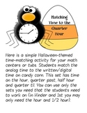 BOO time - Time practice to the Quarter Hour