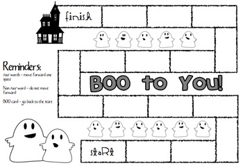 BOO to You! An 'oo' sound game.