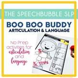 BOOBOO BUDDY Articulation and Language