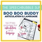 BOOBOO BUDDY Articulation and Language
