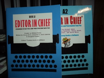 BOOK A 1  EDITOR IN CHIEF   A 2 EDITOR IN CHIEF  (SET OF 2)