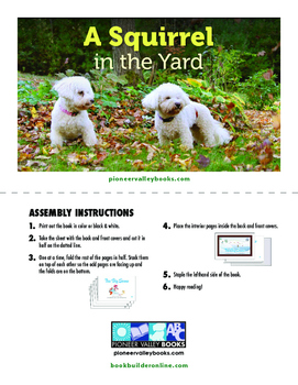 BOOK: A Squirrel in the Yard (Level 13/H)