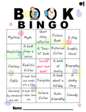 BOOK BINGO with 25 mini book reports