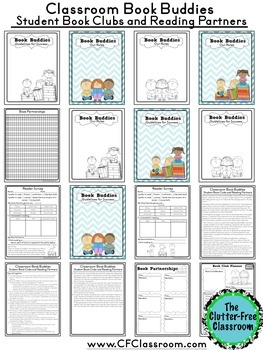 BOOK BUDDIES: Book Clubs, Reading Partners & Literature Circles in the Classroom