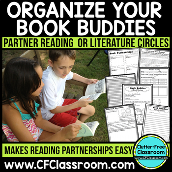 BOOK BUDDIES: Book Clubs, Reading Partners & Literature Ci