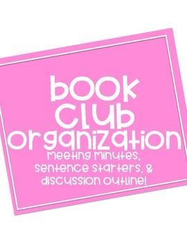 BOOK CLUB ORGANIZATION!