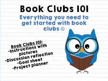 BOOK CLUBS 101