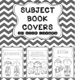 SUBJECT BOOK COVERS (for student workbooks)