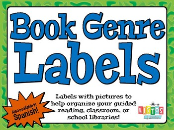 BOOK GENRE Labels