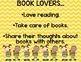 BOOK LOVERS CLUB Goodies for Growing Readers!!