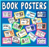 BOOK POSTERS FLASHCARDS A5 KEY STAGE 1-2 ENGLISH DISPLAY EYFS LITERACY LIBR