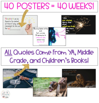 Book Quote of the Week: A Full Year of BELL RINGERS! Middle School & High School