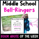 Book Quote of the Week: A Full Year of BELL RINGERS! Middl