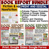 BOOK REPORT BUNDLE: FICTION AND NON-FICTION