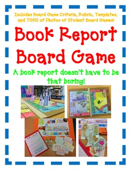 Board games in book box