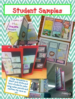 BOOK REPORT- Create a Brochure - Fun Artistic Creative Challenging