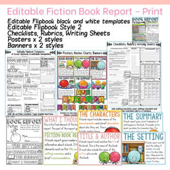 BOOK REPORTS: FICTION