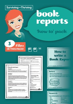BOOK REPORT - 'How To' Pack