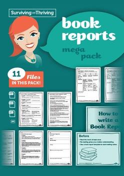 BOOK REPORT - Mega Pack
