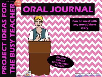 Book Report: Oral Journal Project