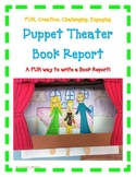 BOOK REPORT- Puppet Theater PLAY! Fun Artistic Creative Challenging
