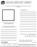 BOOK REPORT SHEET/ BOOK REVIEW SHEETE