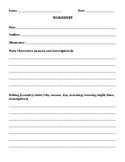 BOOK REPORT TEMPLATE (GRADES 3 and 4)