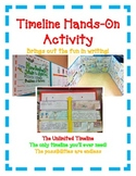 BOOK REPORT- Timeline Hands-On Activity! Great for Main Id