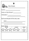 BOOK REPORT-WRITING CENTRE