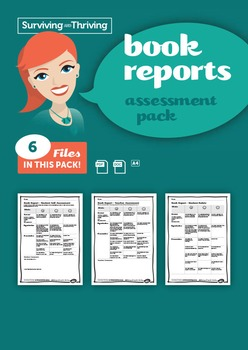 BOOK REPORTS – Assessment Pack