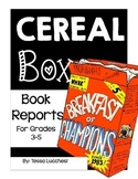 BOOK REPORTS: USING CEREAL BOXES