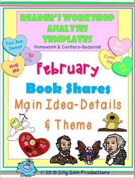 FEBRUARY MAIN IDEA & THEME BOOK SHARES