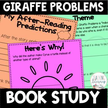 Giraffe Problems Differentiated Book Study Activities