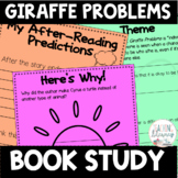 Giraffe Problems Differentiated Book Study Activities