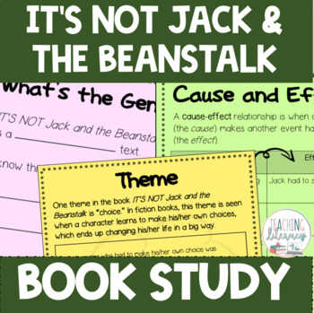 Jack And The Beanstalk Printable Book & Worksheets | TpT