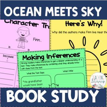 Ocean Meets Sky Differentiated Book Study Activities