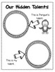 BOOK STUDY - Penguin's Hidden Talent - 46 Activities/Printables! NO PREP! {CCSS}