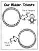BOOK STUDY- Penguin's Hidden Talent- 46 Differentiated Activities/Printables