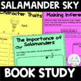 BOOK STUDY - Salamander Sky - 39 Differentiated Activities/Printables - NO PREP!