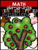 BOOK STUDY   TEN RED APPLES (Subtraction)