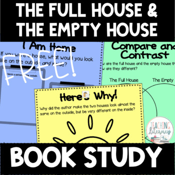 BOOK STUDY - The Full House and the Empty House - 35 Differentiated Printables!