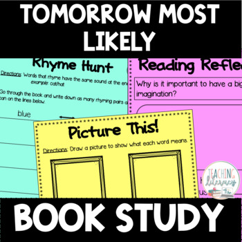 Tomorrow Most Likely Differentiated Book Study Activities