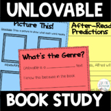 Unlovable by Dan Yaccarino Differentiated Book Study Activities