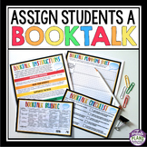 BOOK TALKS: INDEPENDENT READING ASSIGNMENT