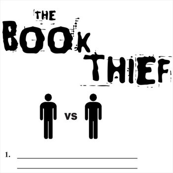 BOOK THIEF Conflict Graphic Organizer - 6 Types of Conflict
