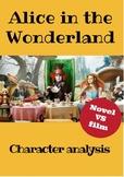 BOOK VS FILM: Alice in the Wonderland (Full lesson)