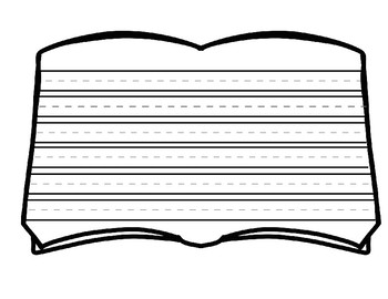 BOOK WRITING SHEET