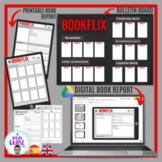 BOOKFLIX- Digital and printable book report and bulletin b