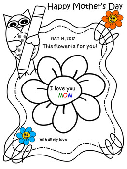 BOOKLET FOR MOTHER'S DAY
