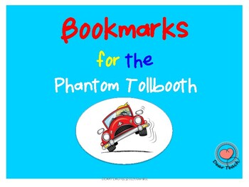 BOOKMARKS for the Phantom Tollbooth